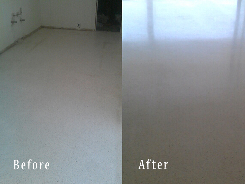Commercial And Residential Terrazzo Floor Polishing Service